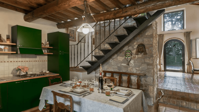 Detached farmhouse Villa Neva Tuscany Florence 13