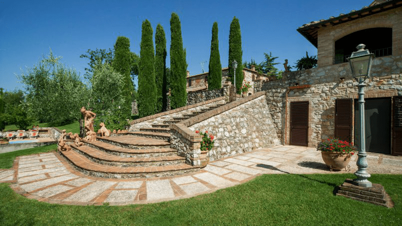 Detached farmhouse Villa Neva Tuscany Florence 28