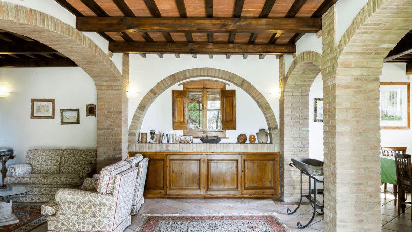 Detached farmhouse Villa Neva Tuscany Florence 30