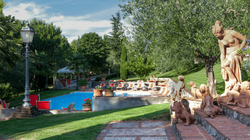 Detached farmhouse Villa Neva Tuscany Florence 43