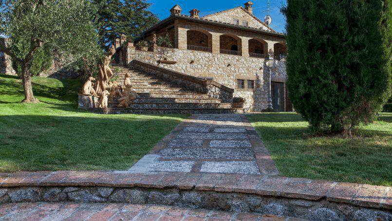 Detached farmhouse Villa Neva Tuscany Florence 45
