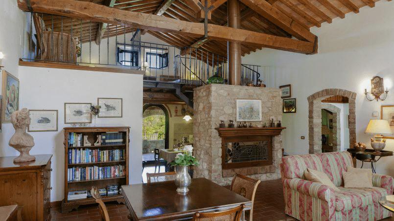 Detached farmhouse Villa Neva Tuscany Florence 7
