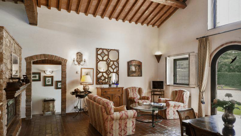 Detached farmhouse Villa Neva Tuscany Florence 8