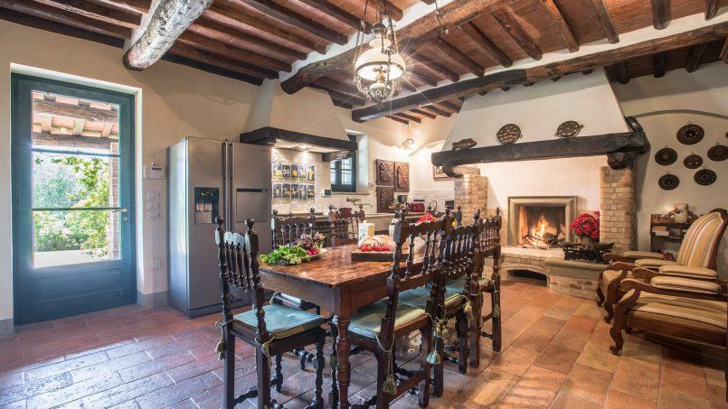 Tuscan luxury Villa Nevola Monsummano Terme 13