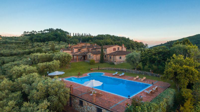 Tuscan luxury Villa Nevola Monsummano Terme 52