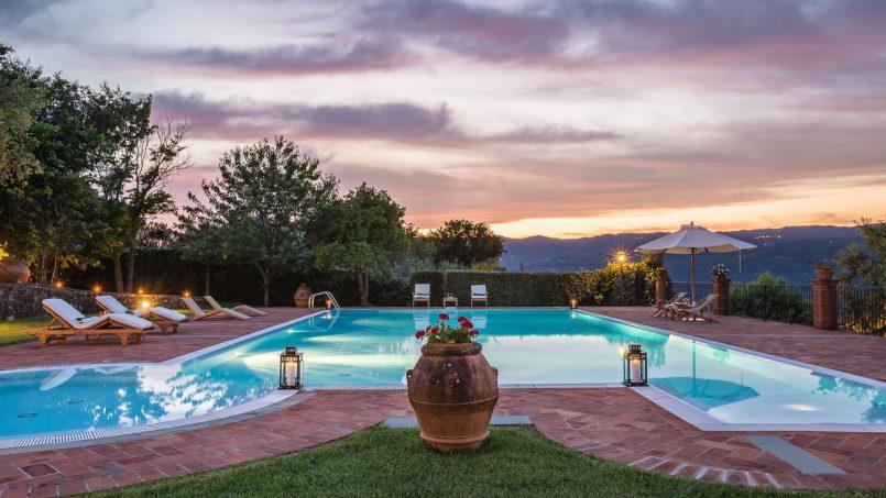 Tuscan luxury Villa Nevola Monsummano Terme 54