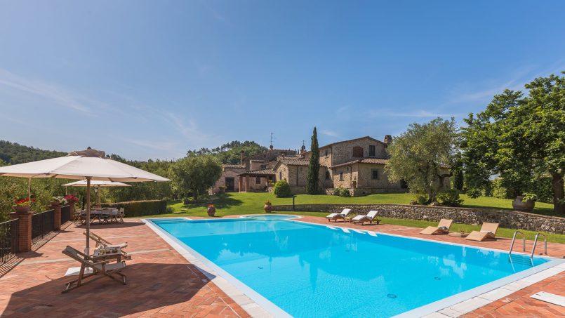 Tuscan luxury Villa Nevola Monsummano Terme 9
