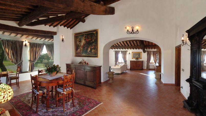 Luxury farmhouse Villa Spina Tuscany Pienza 11