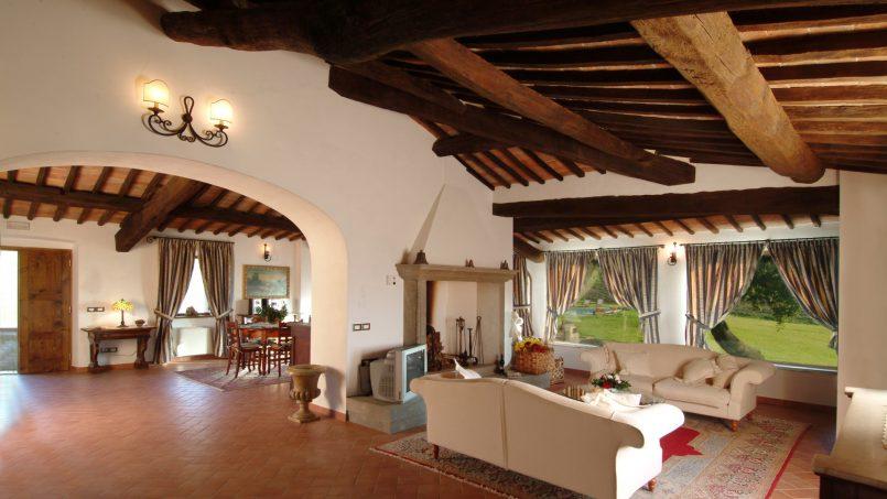 Luxury farmhouse Villa Spina Tuscany Pienza 12