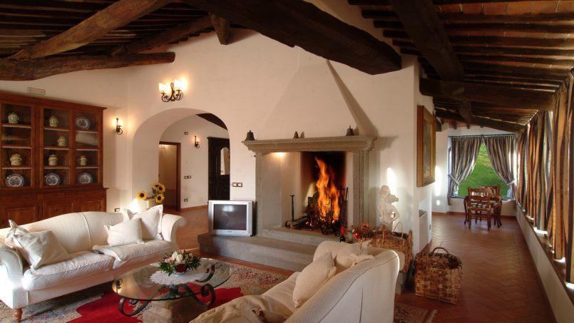 Luxury farmhouse Villa Spina Tuscany Pienza 13