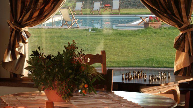 Luxury farmhouse Villa Spina Tuscany Pienza 14