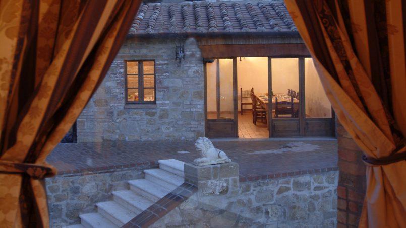 Luxury farmhouse Villa Spina Tuscany Pienza 17
