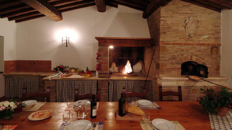 Luxury farmhouse Villa Spina Tuscany Pienza 20