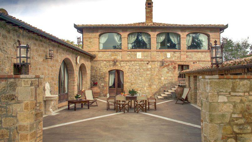 Luxury farmhouse Villa Spina Tuscany Pienza 21