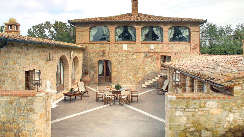 Luxury farmhouse Villa Spina Tuscany Pienza 22