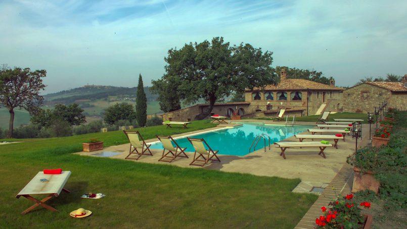 Luxury farmhouse Villa Spina Tuscany Pienza 23