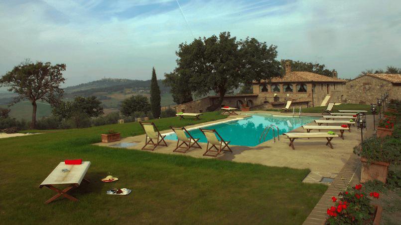 Luxury farmhouse Villa Spina Tuscany Pienza 24