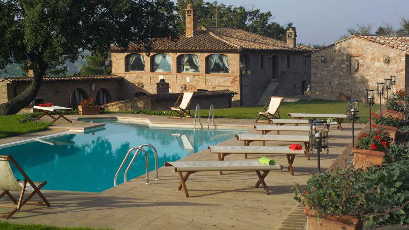 Luxury farmhouse Villa Spina Tuscany Pienza 28