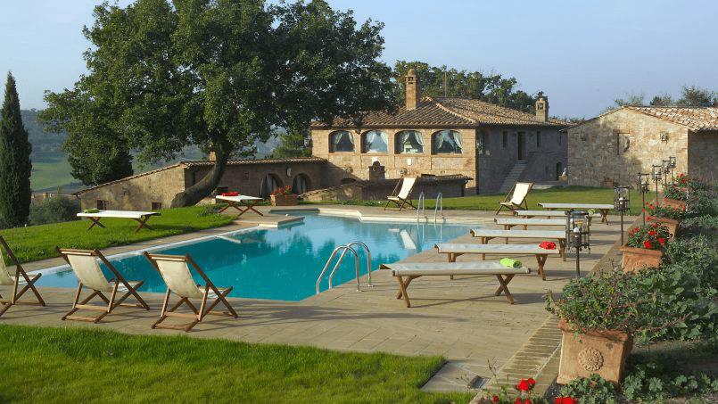 Luxury farmhouse Villa Spina Tuscany Pienza 29