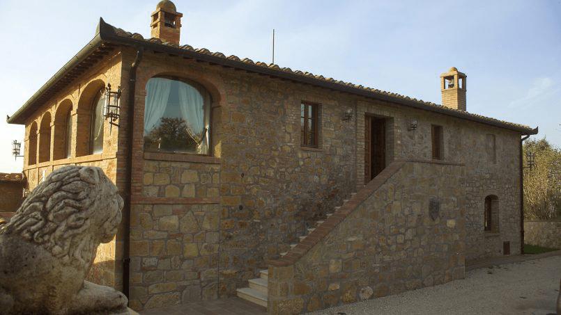Luxury farmhouse Villa Spina Tuscany Pienza 34