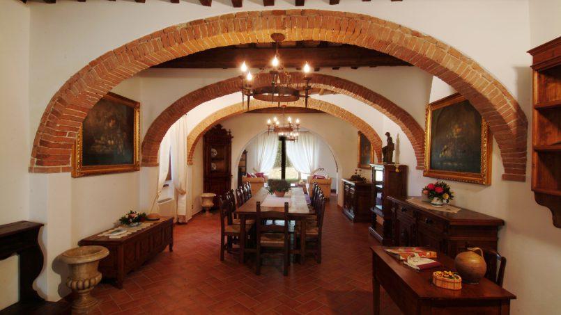 Luxury farmhouse Villa Spina Tuscany Pienza 6
