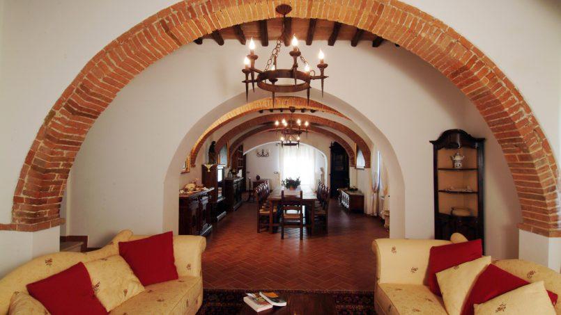 Luxury farmhouse Villa Spina Tuscany Pienza 7