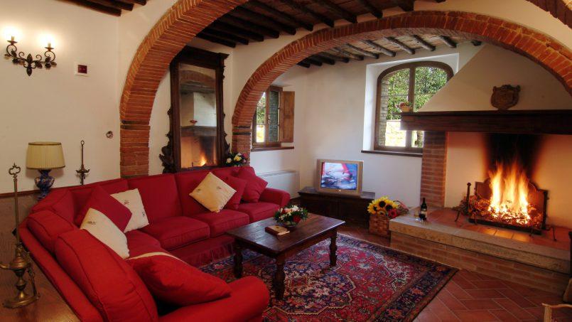 Luxury farmhouse Villa Spina Tuscany Pienza 8